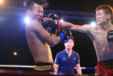 昆仑决创始人解说三亚高校力量 校园学霸秒变擂台拳霸
