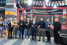 姜华走访上海昆仑营虎毅俱乐部 谈发展要点盼共助力搏击产业