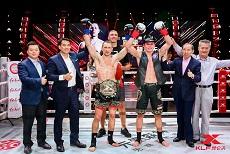 昆仑决83赤水站诞生洲际冠军,祖耶夫夺得金腰带,张立鹏秒杀降服