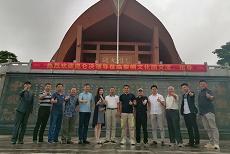 昆仑决创始人姜华参观五指山黎峒文化园,感受海南海拔最高旅游景区