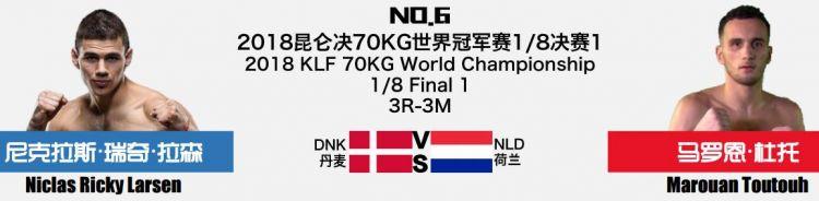2018年8月5日昆仑决75三亚站 - 直播[视频] 诸神之战1/8决赛KunLun Fight 75
